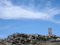 Ruínas do castelo de Penas Roias