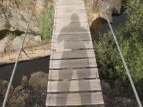 Na ponte suspensa