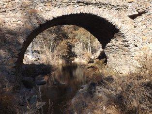 Ponte Casas-da-Ribeira (Mação), depois do fogo.