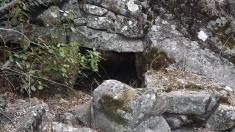 Estas ruínas fariam parte da antiga levada de água.