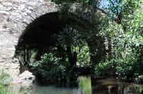 Ponte do Estreito na Ribeira do Aziral.