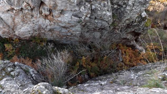 Do cimo das rochas observo a passagem, um local misterioso não acham?