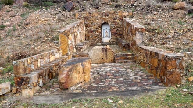 Fonte Santa de São Gens.