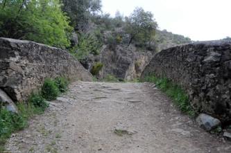 O tabuleiro da ponte.