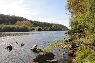 A beleza do rio Tejo.