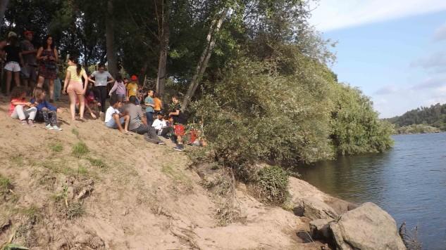 Falámos das árvores que compõem as margens dos rios e a sua importância.