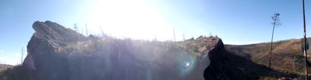 Bonita a visão panorâmica...