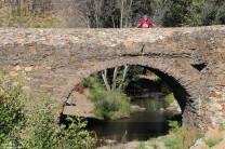 Para finalizar parámos na aldeia do Castelo para contemplar a ponte velha.