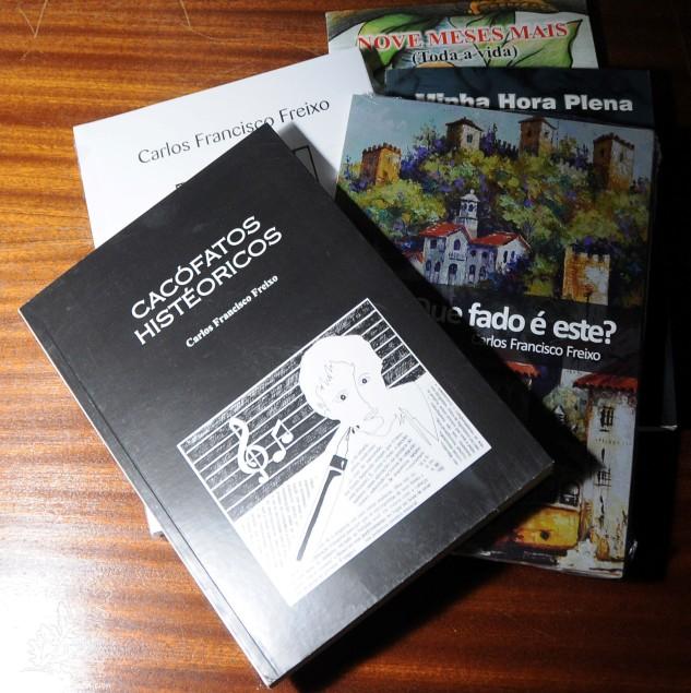 Não fosse o Carlos um escritor, acabou por me brindar com alguns dos seus livros, que estou a ler com grande entusiasmo.